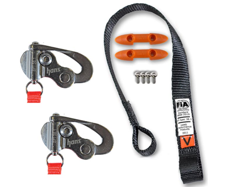 Hans Tether Upgrade Kit / Quick Click w/Sport II Sliding Tether for SA Helmet - TU 11421-3