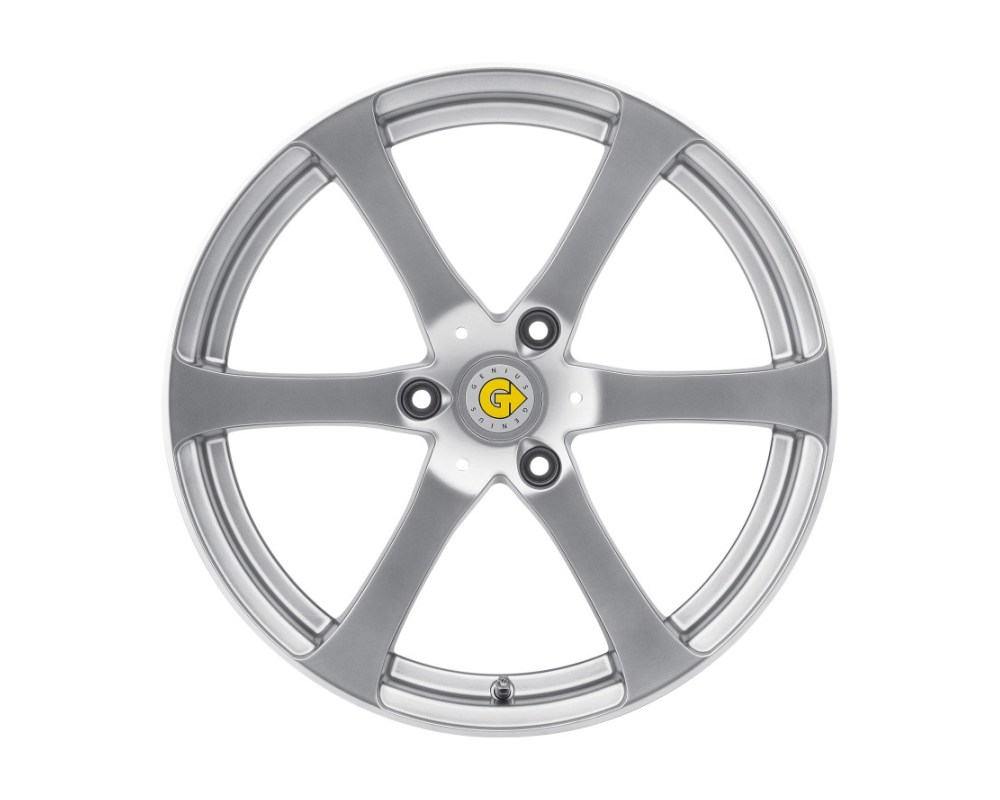 Genius Newton Hyper Silver Wheel 17x7.5 3x112 26mm CB57.1 - 1775GEN263112S57