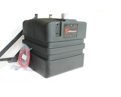 Image of Snow Performance 35 Gallon Reservoir Mounting Bracket and Accessories 23 x 21 x 23 Universal