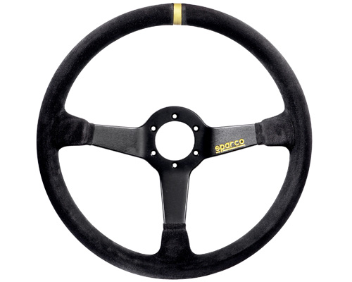 Sparco 368 Suede Universal Racing Steering Wheel