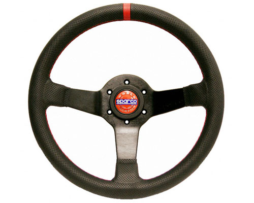 Sparco Champion Universal Leather Steering Wheel - 015TCHMP