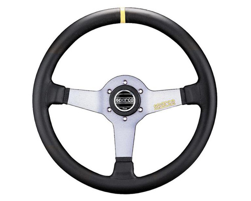 Sparco Monza Street Leather Steering Wheel - 015TMZL9