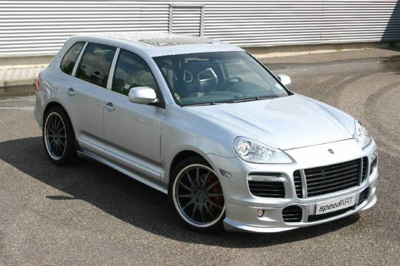 SpeedART Front Add-On Spoiler Porsche Cayenne 957 08-10 - SA.P57.CFS.XX