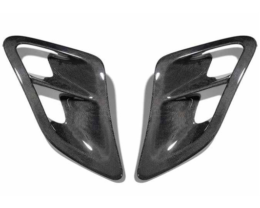SpeedART BTR-II Carbon Fiber Side Inlets Porsche 997.2 Turbo 10-12 - P97.150.022