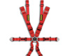 Image of Schroth Racing Harness P2 6 Flex Y Snap Black