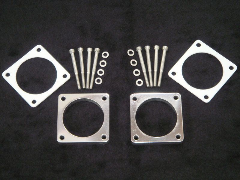 South Side Performance Aluminum Throttle Body Spacer Kit Nissan GT-R R35 09-18 - SSP-GTR-TBSK