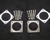 Image of South Side Performance Aluminum Throttle Body Spacer Kit Nissan R35 GT-R 09-12