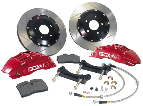 StopTech Front 14 Inch 6 Piston Big Brake Kit Chevrolet Corvette C6 05-09