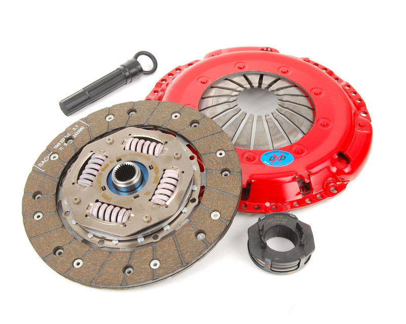 South Bend Clutch Kit Stage 1 Heavy Duty for Single Mass Fly Audi A6 Quattro 6 Cyl 2.8 | AFC 95-97 - K70007-HD-SMF