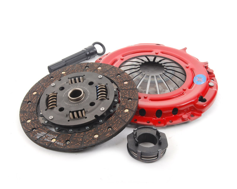South Bend Clutch Kit Stage 2 Daily Volkswagen Golf II 4 Cyl 1.8L 8V O2O Trans 85-92 - KF785-02-HD-O