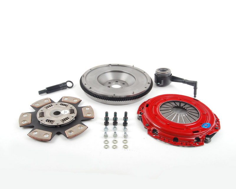 South Bend Clutch Kit Stage 2 Drag Volkswagen Golf II 4 Cyl 1.8L 8V O2O Trans 85-92 - KF785-02-HD-DXD-B