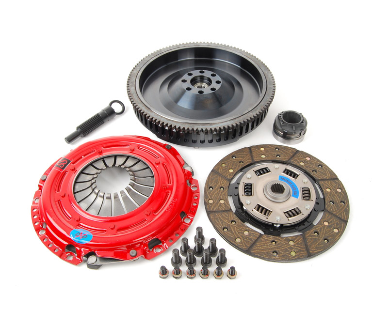 South Bend Clutch Kit Stage 3 Daily for Dual Mass Fly Volkswagen Jetta IV 6SP 4 Cyl 1.8T 00-05 - K70287-SS-O-DMF