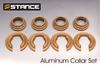 Image of Stance Aluminum Subframe Collar Set Nissan 240SX 89-94