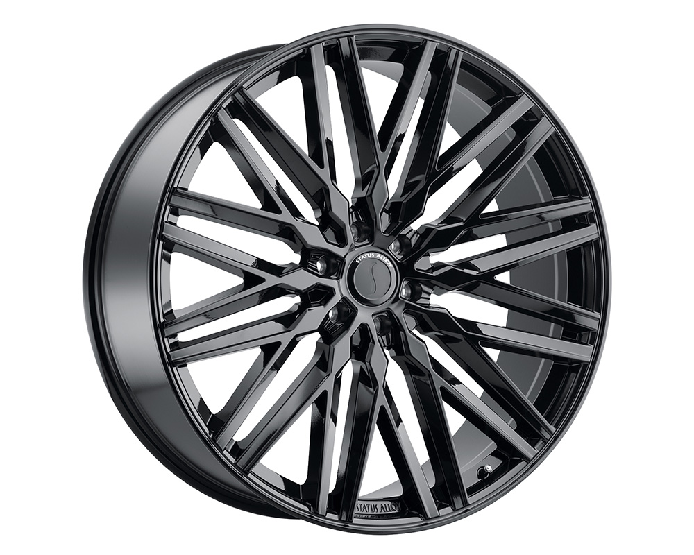 Status Adamas Wheel 22x9.5  6x135 30mm Gloss Black - 2295ADM306135B87