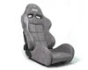 Image of Status Racing SPA Reclineable Seat Carbon Fiber Gray Suede Racing Seat