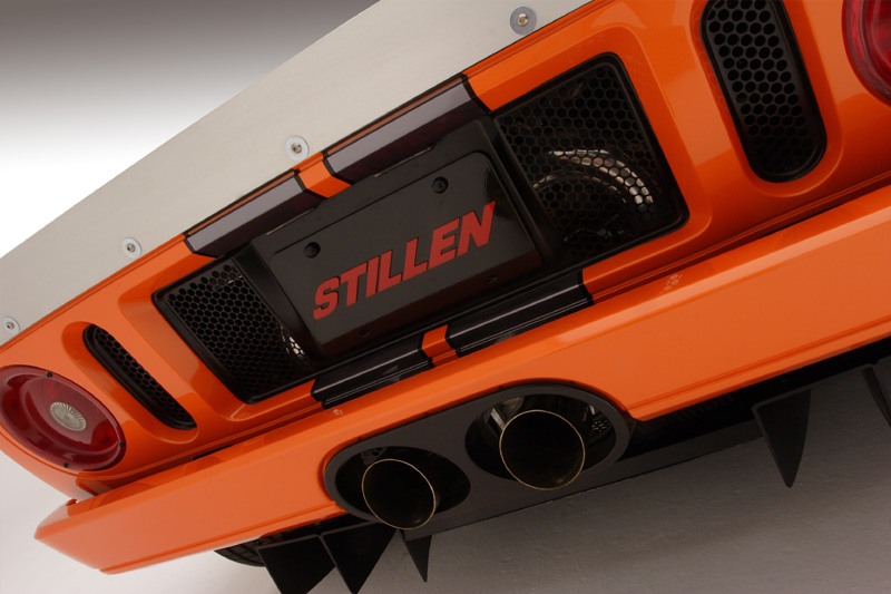 STILLEN Ceramic Coated Catback Exhaust System Ford GT 05-06 - FGT501000A