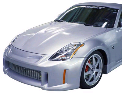 Stillen FRP Power Cowl Hood Nissan 350Z 03-08