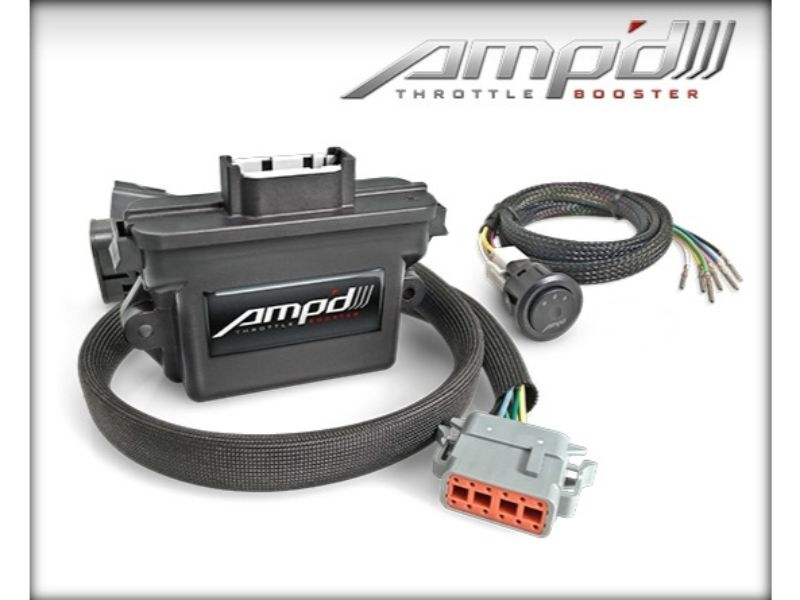 Superchips Amp'd Throttle Booster Kit with Power Switch GMC | Chevrolet - 28862-D