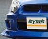 Image of SYMS Front Spoiler Lip Subaru WRXSTI 04-07