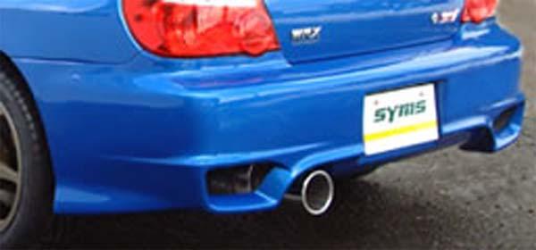 SYMS Rear Bumper Subaru WRX/STI 04-07