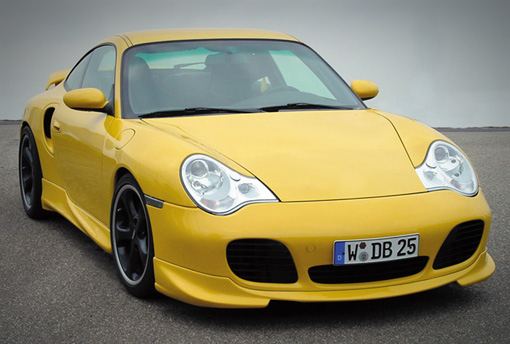 TechArt Front Spoiler I Porsche 996 Turbo | GT2 01-05