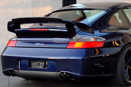 TechArt Rear Bumper GT Sport without Park Assist Porsche 996 Turbo | GT2 01-05 - 096.100.582.009