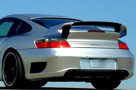 TechArt Rear Bumper GT Sport with Park Assist Porsche 996 Turbo | GT2 01-05 - 096.100.583.009
