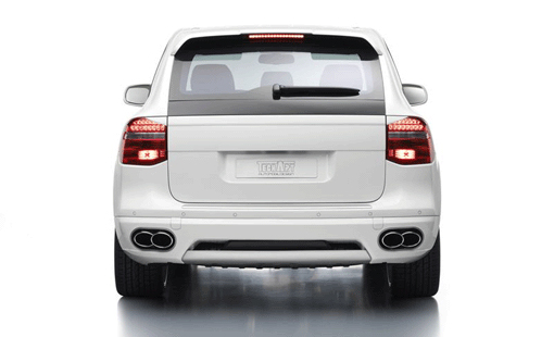 TechArt Rear Skirt Type 1 Porsche Cayenne 958 without Tow Hitch 11-14 - 058.100.500.009