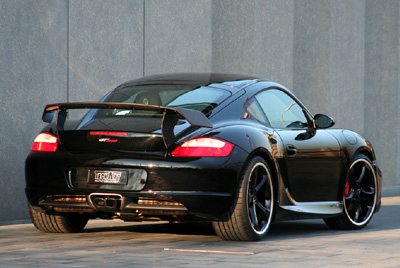 TechArt Rear Spoiler Type 2 Porsche Cayman | Cayman S 987 06-13 - 087.100.811.009