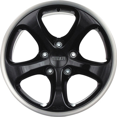 TechArt Formula GTS Wheel Black 20x12 48mm Porsche 997 05-08 - 097.210.120.048GTS