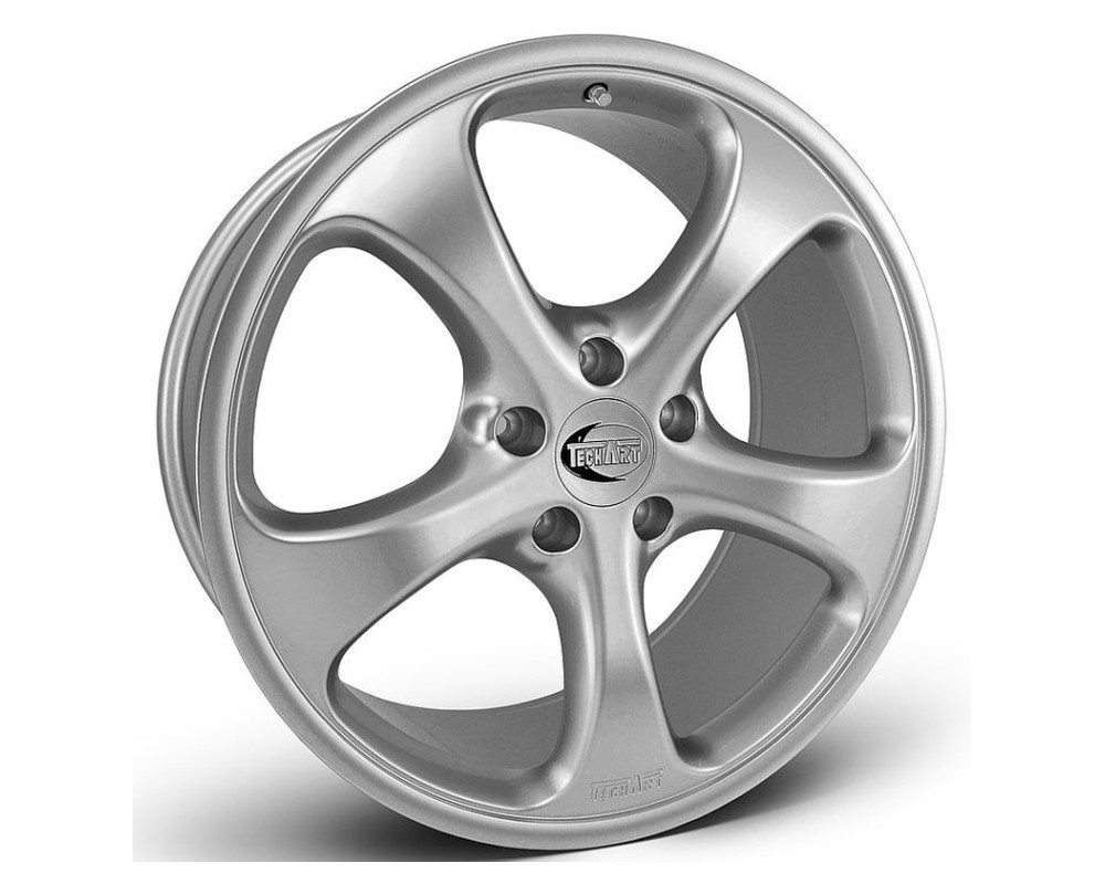 TechArt Formula Wheel Silver 18x10.5 60mm Porsche 95-12 - 996.210.058.060