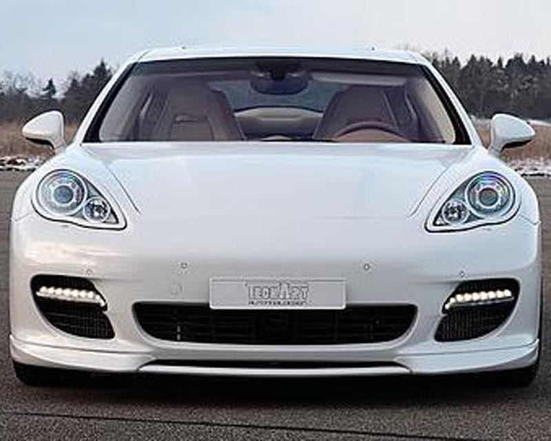 TechArt Multifunction Daytime Running Lights Black Finish Porsche Panamera Turbo 10-13