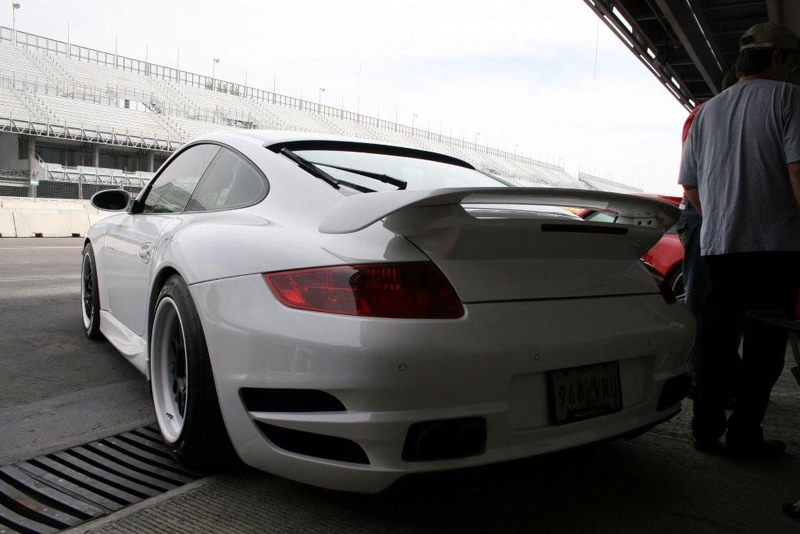 TechArt Rear Wing Type 2 Porsche 997 Turbo 07-12 - 097.100.881.009