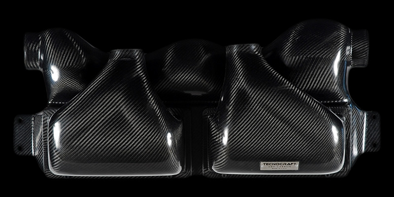 Tecnocraft Dry Carbon Fiber Cold Air Intake Lamborghini Gallardo 04-12 - LG-IS001C/K