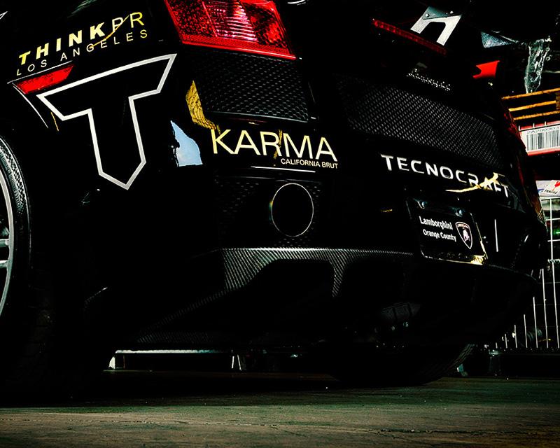 Tecnocraft Dry Carbon Fiber Rear Diffuser Lamborghini Gallardo 04-12 - LG-RD001C/K