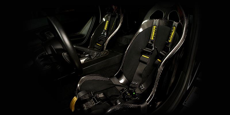 Tecnocraft Dry Carbon Fiber T1 Racing Seat Lamborghini Gallardo 04-12 - LG-RS001C