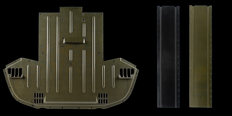 Tecnocraft Dry Carbon Fiber Underbody Panels Lamborghini Gallardo 04-12 - LG-UP001C/K