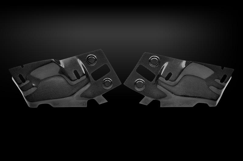 Tecnocraft Dry Carbon Fiber Envy Headlight Access Cover BMW M3 E90 E92 08-11 - BMW-NVHA-C