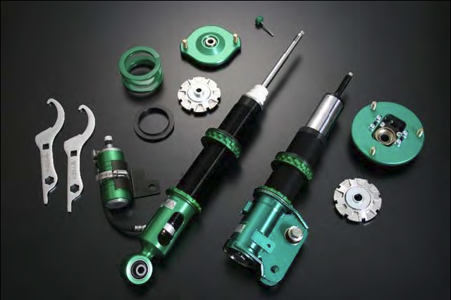 Tein Super Racing Coilover System Mitsubishi EVO X 08-12 - DSE18-81LS1