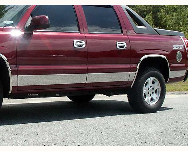 Quality Automotive Accessories 10-Piece Stainless Steel Rocker Panel Trim Kit Chevrolet Suburban 2006 - TH40198