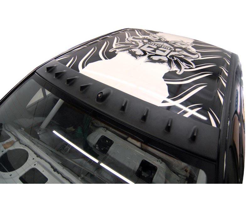 Titek Gloss Carbon Fiber Vortex Generator Mitsubishi EVO VII VIII IX 01-07 - CFG-CT9A