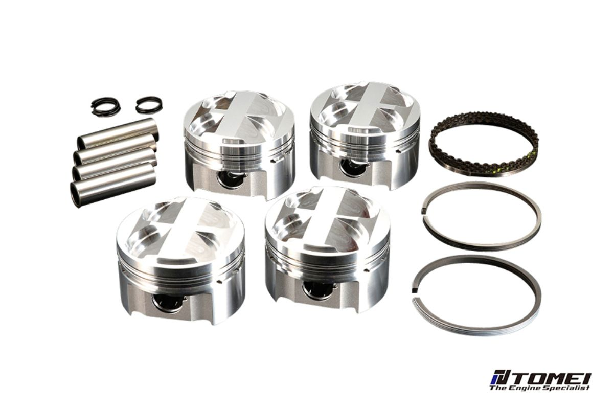 Tomei 82mm Forged Piston Set Toyota Corolla 4AG 83-93 - TA202A-TY01A