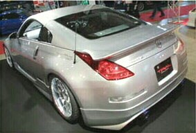 Trial Try Force Rear Wing Nissan 350Z