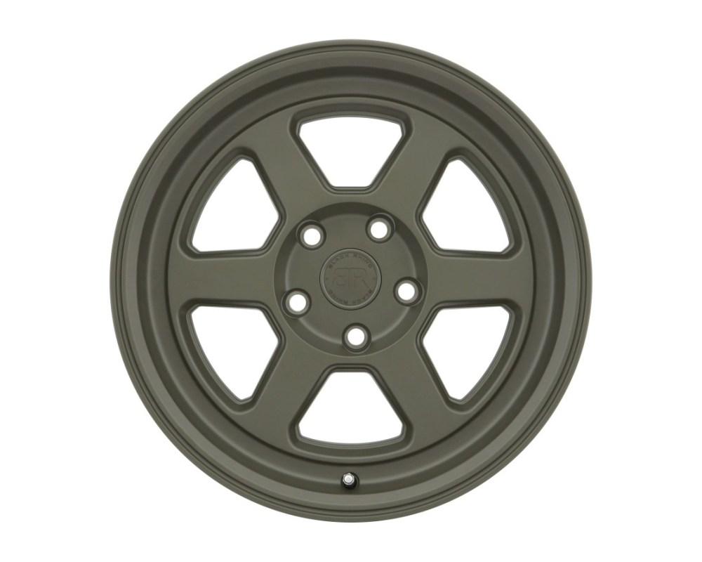 Black Rhino Rumble Olive Drab Green Wheel 16x7 5x114 15mm  CB76.1 - 1670RBL155114N76