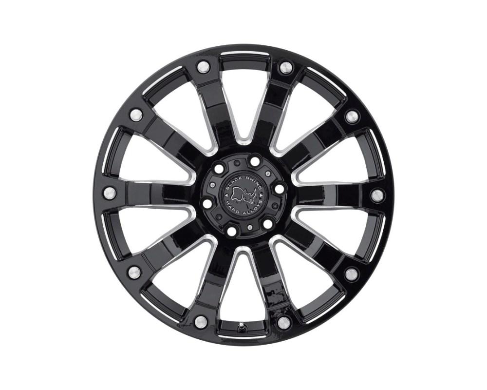 Black Rhino Selkirk Gloss Black Milled Wheel 18x9 6x139.70|6x5.5 -12mm CB112 - 1890SLK-26140B12