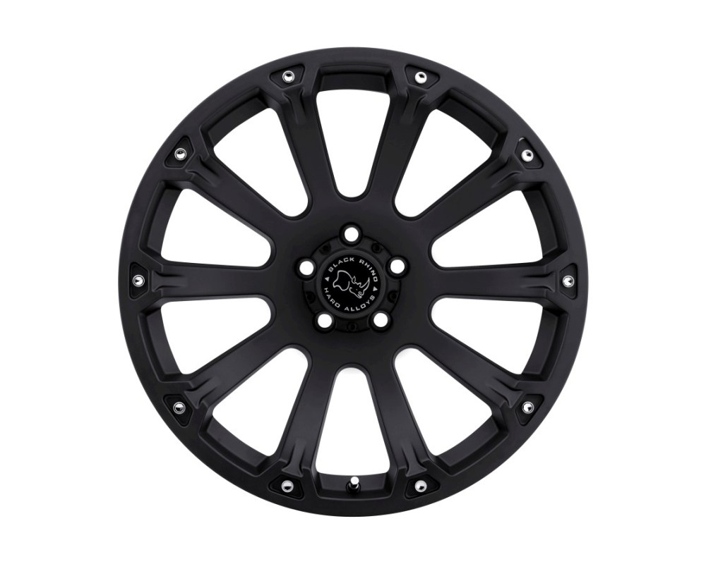 Black Rhino Sidewinder Matte Black Wheel 20x9 5x139.70|5x5.5 0mm CB78.1 - 2090SID005140B78