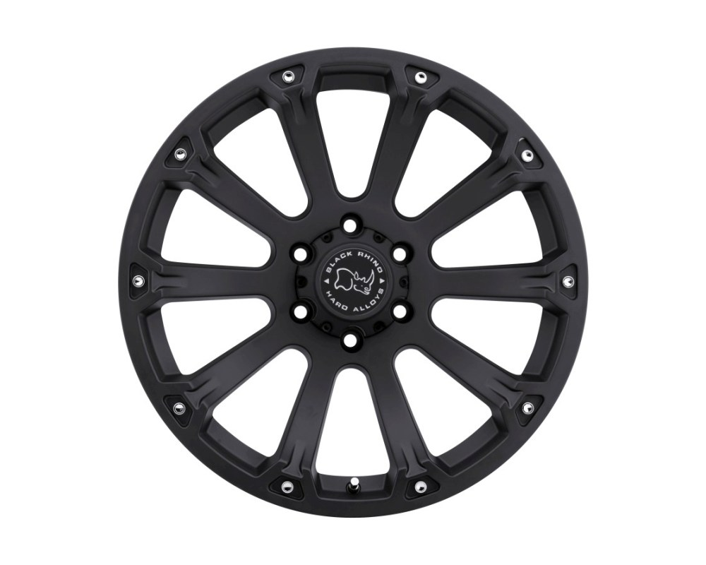 Black Rhino Sidewinder Matte Black Wheel 18x9 6x135 -12mm CB87.1 - 1890SID-26135B87