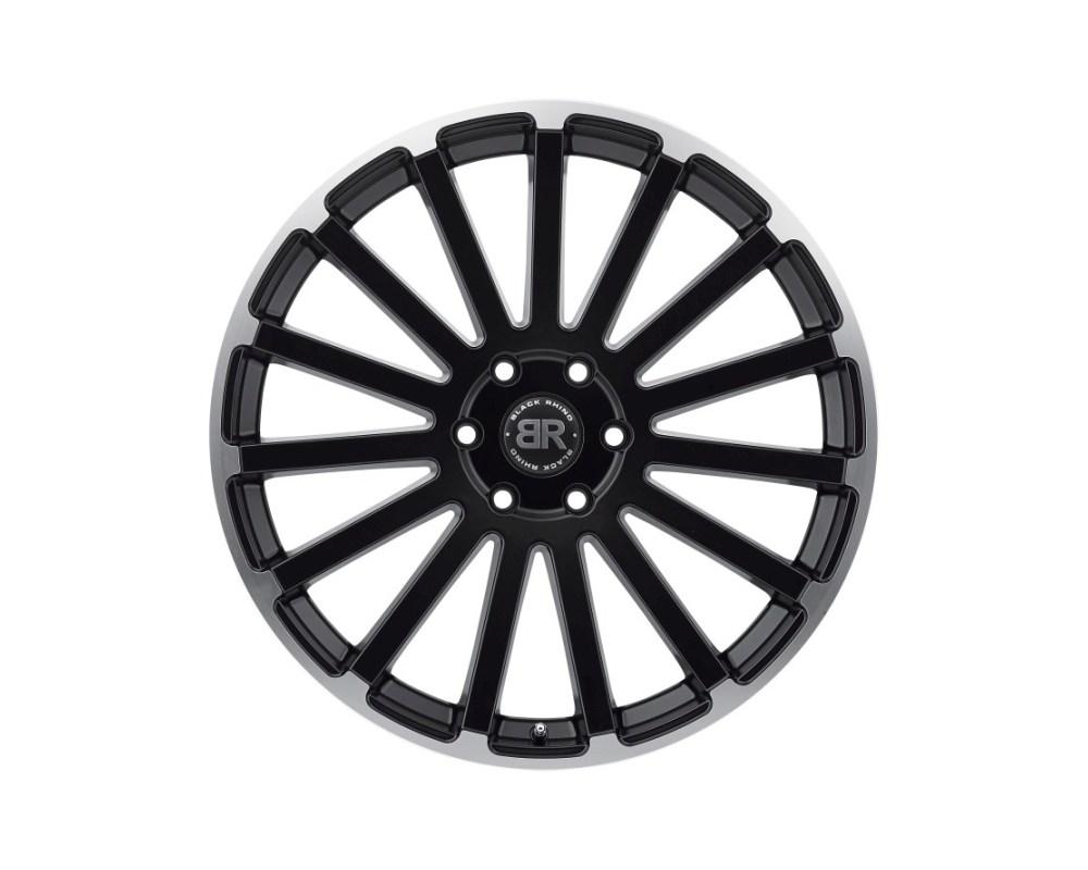 Black Rhino Spear Matte Black w/ Matte Machined Lip Edge Wheel 22x9.5 5x150 25mm CB110.1 - 2295SPR255150F10