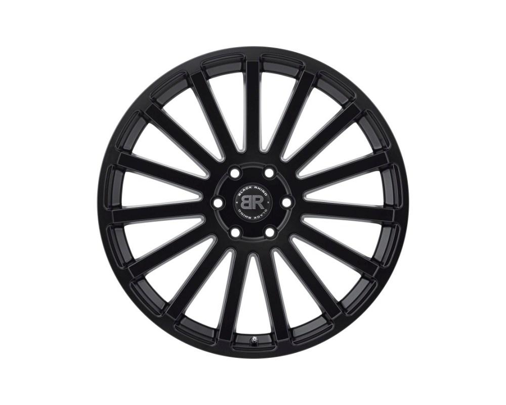 Black Rhino Spear Matte Black Wheel 24x10 5x139.70|5x5.5 25mm CB78.1 - 2410SPR255140M78