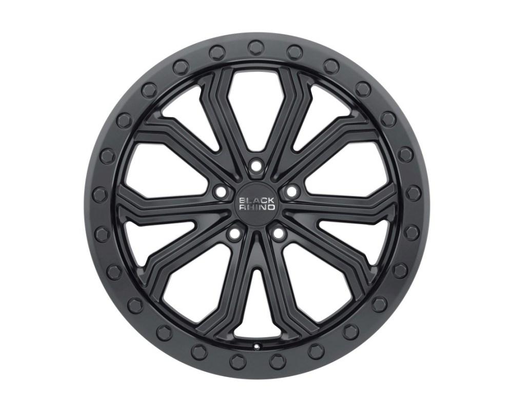 Black Rhino Trabuco Matte Black w/ Black Bolts Wheel 22x10 5x127|5x5 30mm CB71.6 - 2210TBC305127M71
